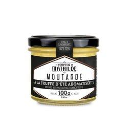 Moutarde à la truffe d'été aromatisée 1%