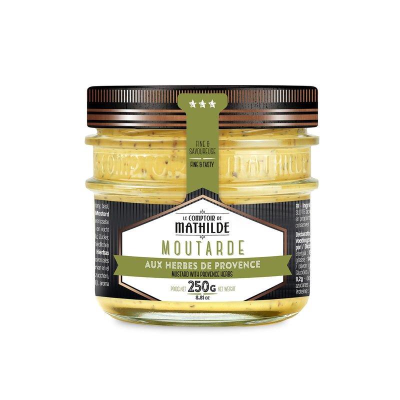 Moutarde aux herbes de Provence 250g