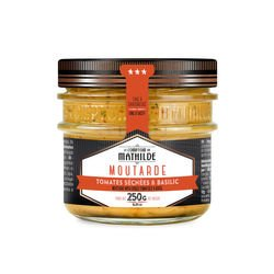 Mustard with Dried Tomatoes & Basil 250g