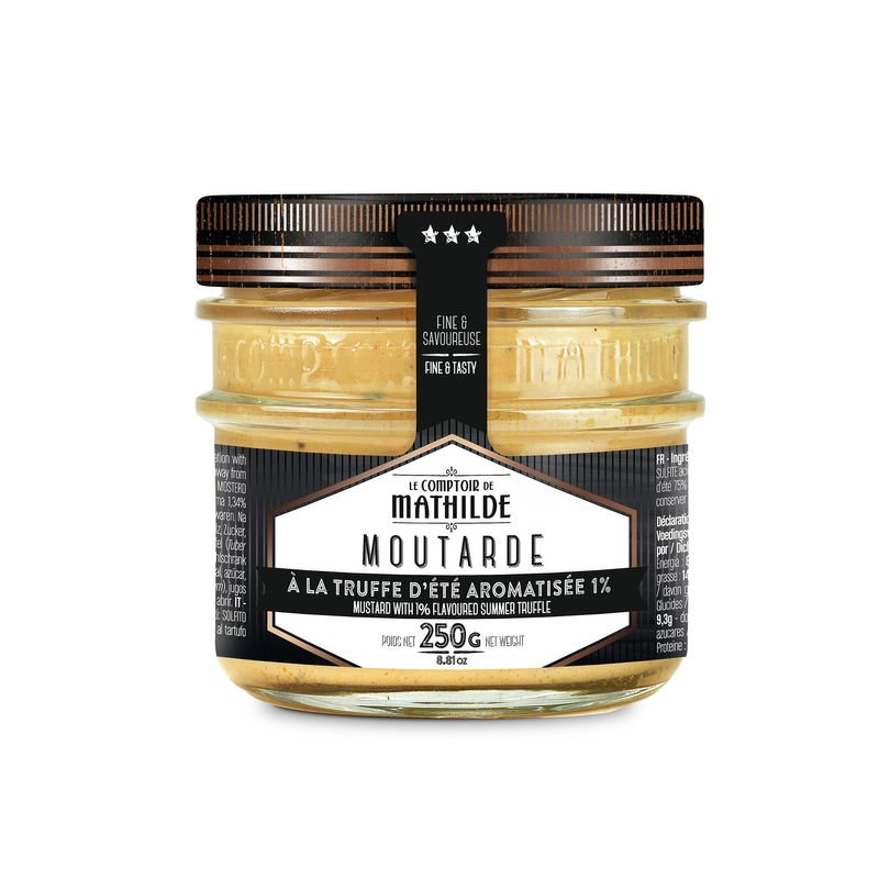 Mustard with 1% flavoured summer truffle - 8.8