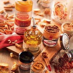 Préparation Culinaire à base d'Huile d'Olive au Basilic - 25 cl