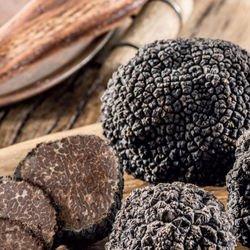 Mini moulin Truffe noire et Poivre noir 50g