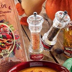 Black Pepper from Kampot Cambodia mini Mill 0.70 oz