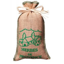 Recharge Sac Jute Herbes de Provence 150g