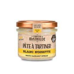 White with hazelnut paste 20% - Spread 3.53oz