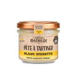 White with hazelnut paste 20% - Spread 3.53oz