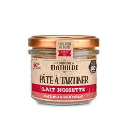 Milk with hazelnut paste - Spread 3.53oz