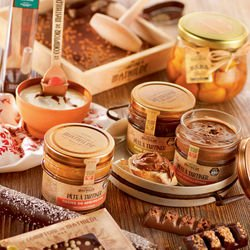 Chocolat au Lait Eclats de Caramel Beurre Salé - Pâte à Tartiner 100g