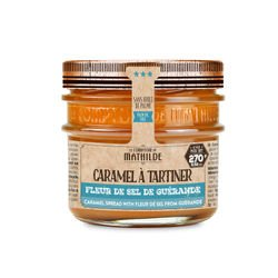 Caramel Spread with Fleur de Sel from Guerande