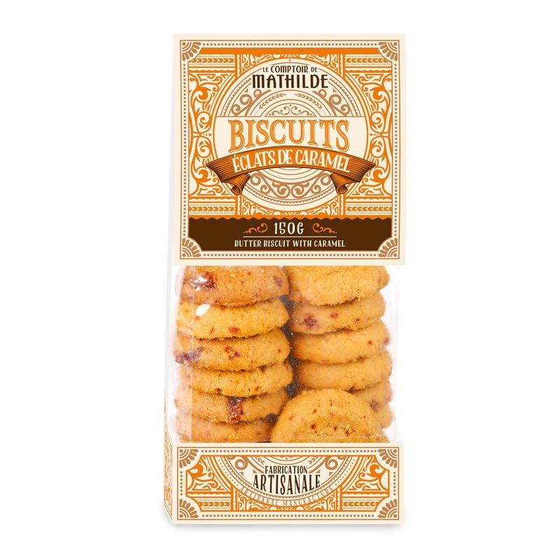 Biscuit Éclats de Caramel