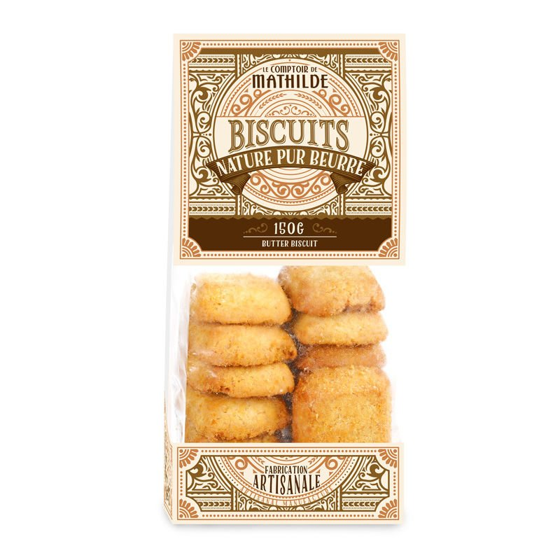 Biscuit Nature Pur Beurre 150g