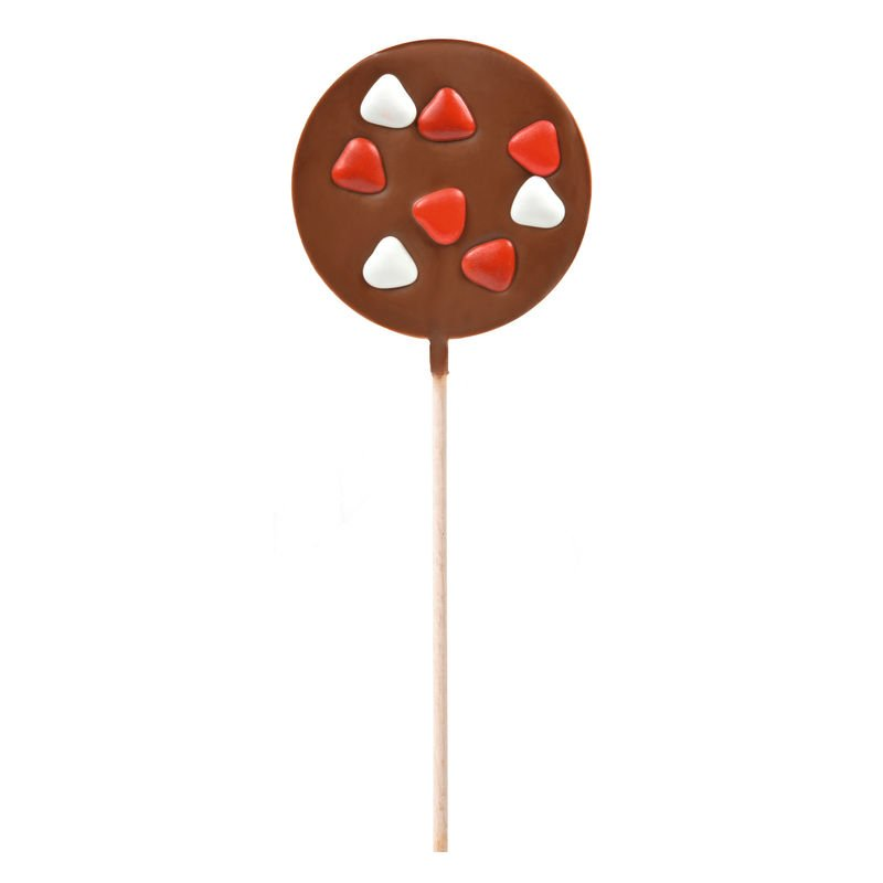 Heart Milk Chocolate Lollipop