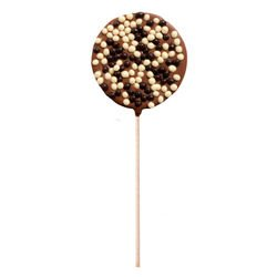 Puffed rice milk chocolate - Chocolate lollipops