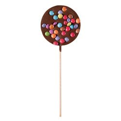 Party milk chocolate - Chocolate lollipops