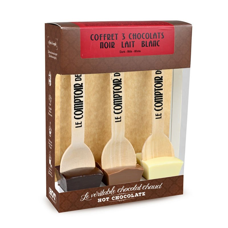 3 Chocolats - Coffret 3 Hot Chocolate®