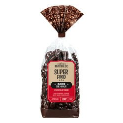 Superfood Goji berries coated with dark chocolate