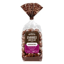 Milk chocolate nougatine