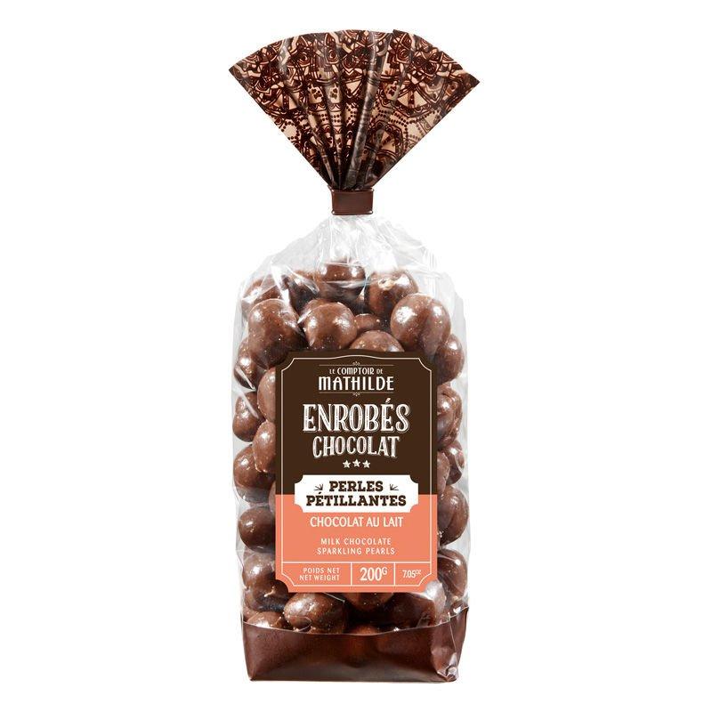 Perle Pétillante Chocolat au Lait