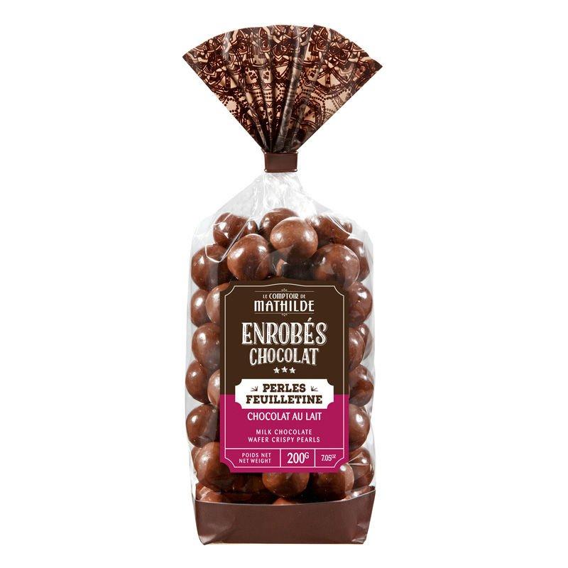 Milk chocolate wafer pearl