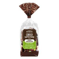 Napolitain 3 chocolates assortment