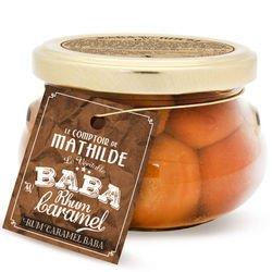 Vanilla-Flavoured Rum BabaCaramel with Fleur de Sel from Guerande