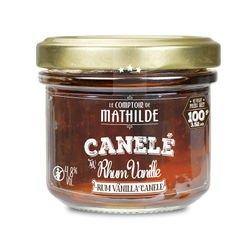 Canelé au rhum vanille