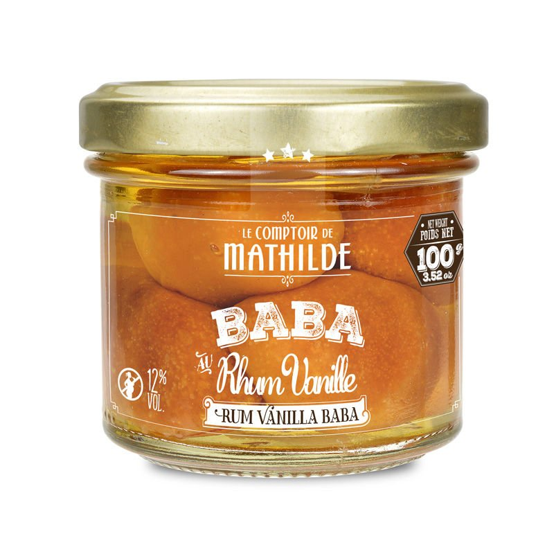 Rum Vanilla Baba