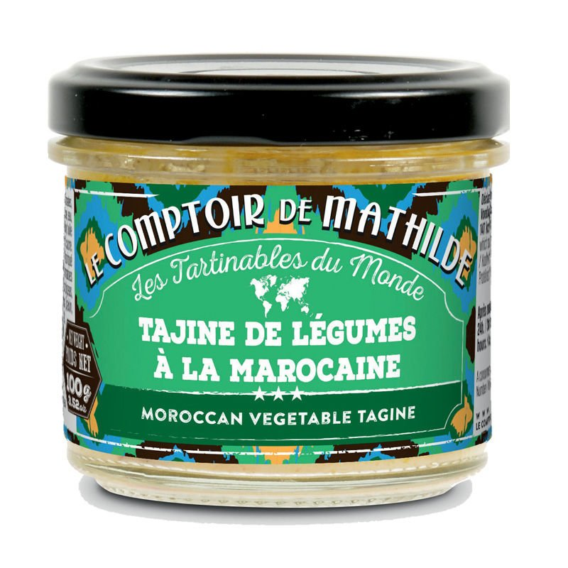 Moroccan vegetable tagine spicy spreadables 3.52oz