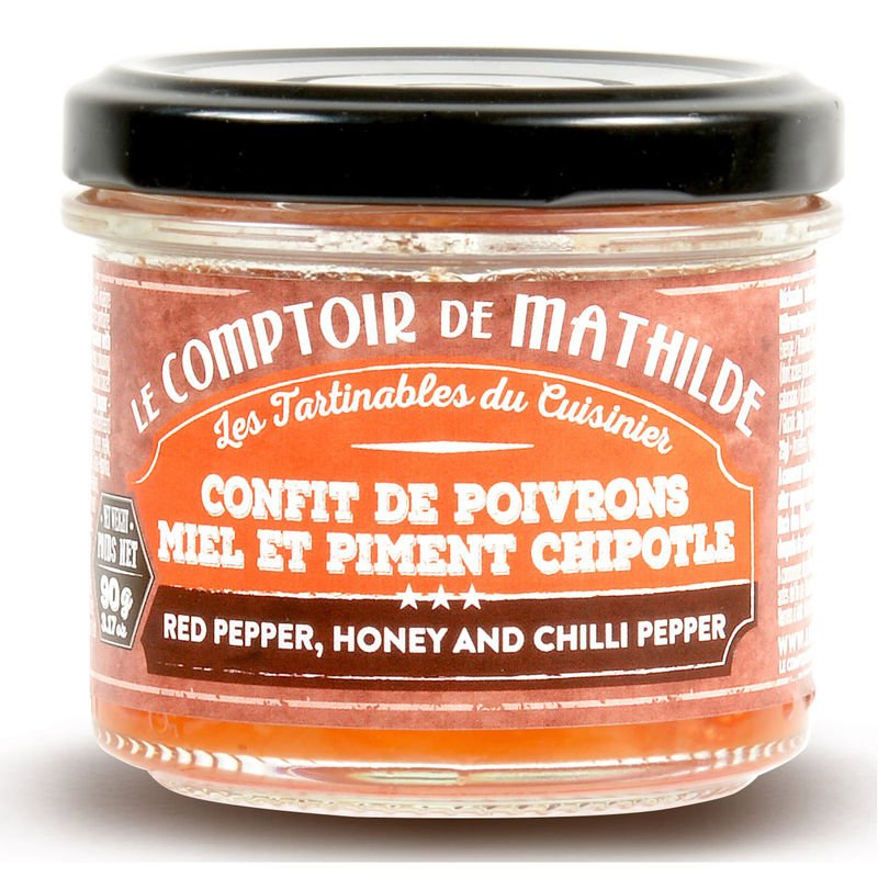 Red pepper, honey and chili pepper Spreadables 3.17oz