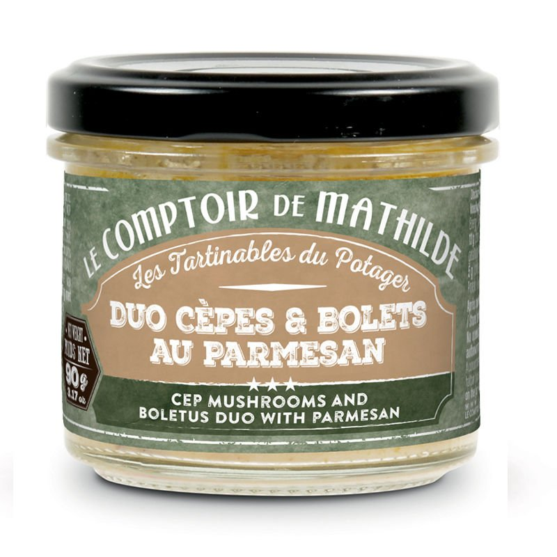 Cep Mushrooms and boletus duo with parmesan - Spreads 3.17oz