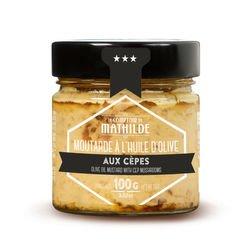 Moutarde à l'huile d'olive aux Cèpes - 100g