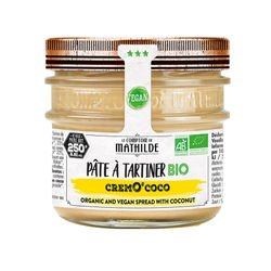Organic and vegan spread with coconut 8.81oz