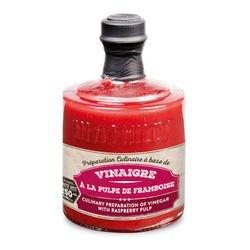 Préparation culinaire à base de Vinaigre à la Pulpe de Framboise - 25 cl