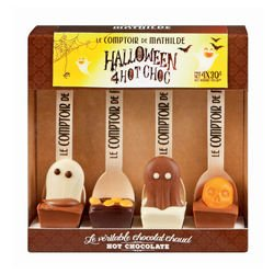Halloween Hot Chocolate set with Assorted fihures