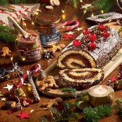 Chocolat Noir Épices d'Hiver & Orange  - Collection Noël - Pâte à Tartiner