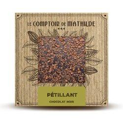 Tablette Pétillant - Chocolat noir