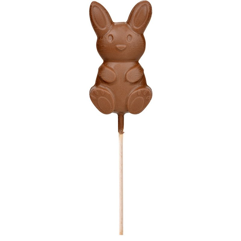 "Milk chocolate ""Lollipop rabbit"" Easter"