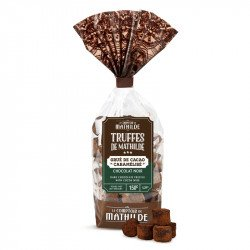 Dark chocolate truffle with cocoa nibs 5.29oz