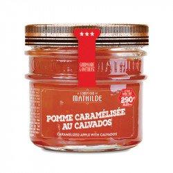 Pomme caramélisée au Calvados - Confiture