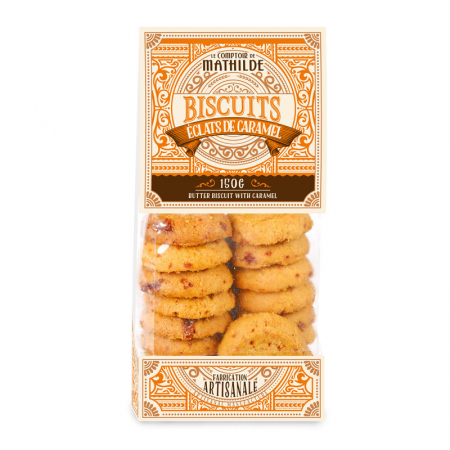 Caramel biscuits