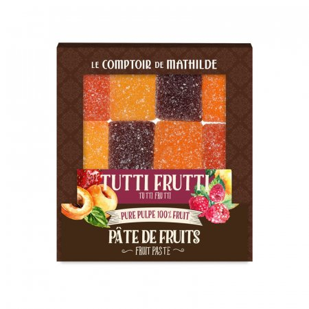 Tutti Frutti (Apricot - Strawberry - Raspberry - Pear) - Fruit Paste