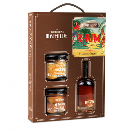 Once Upon a Time Vanilla Rum set