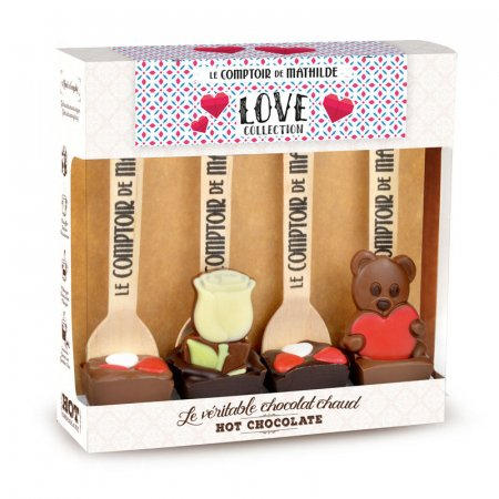 Love Collection - Coffret 4 Hot Chocolate®