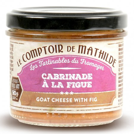 Goat cheese with fig spreadable 3.17oz