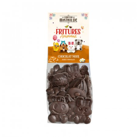 Dark chocolate animals figures Easter