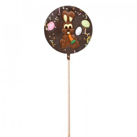 Dark Chocolate lollipop - Easter Edition