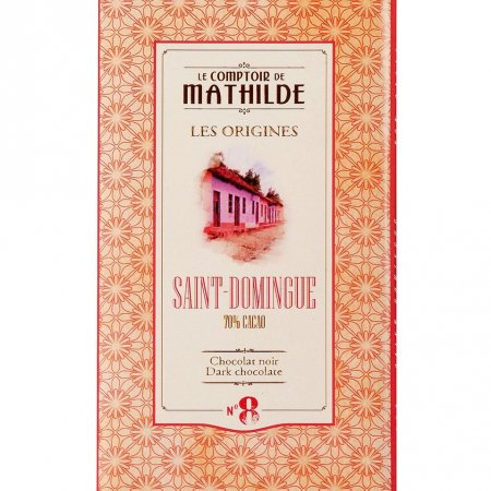 Santo Dominigo Dark Chocolate Bar