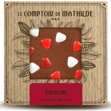 Chocolate Bar Heart - Milk chocolate